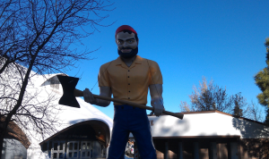 First Muffler Man, Flagstaff AZ