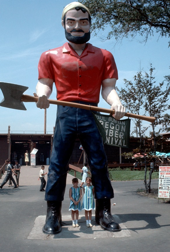 002 - Oregon - Paul Bunyan