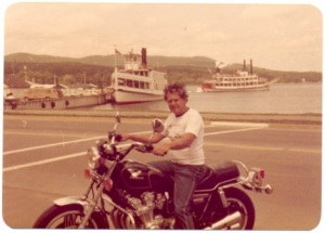 Harry Horne in Lake George, NY